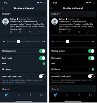 Cara Mengaktifkan Update Dark Mode Twitter