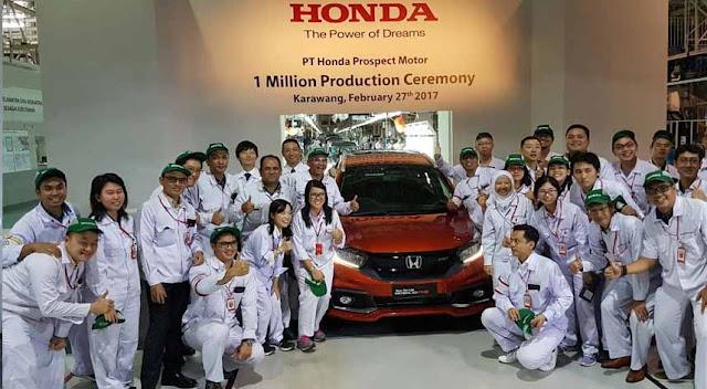 Lowongan Kerja S1 PT. Honda Prospect Motor, Jobs: Body Production Staff.