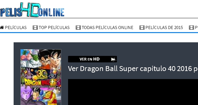 PelisHDOnline Dragon Ball Super