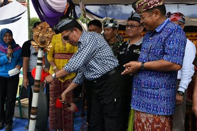 Zaiful Bokhari Buka Festival Ogoh-ogoh dan Balaiganjur di Raman Utara