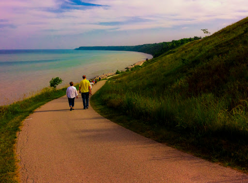 Lake Bluff Path at Concordia University Wisconsin