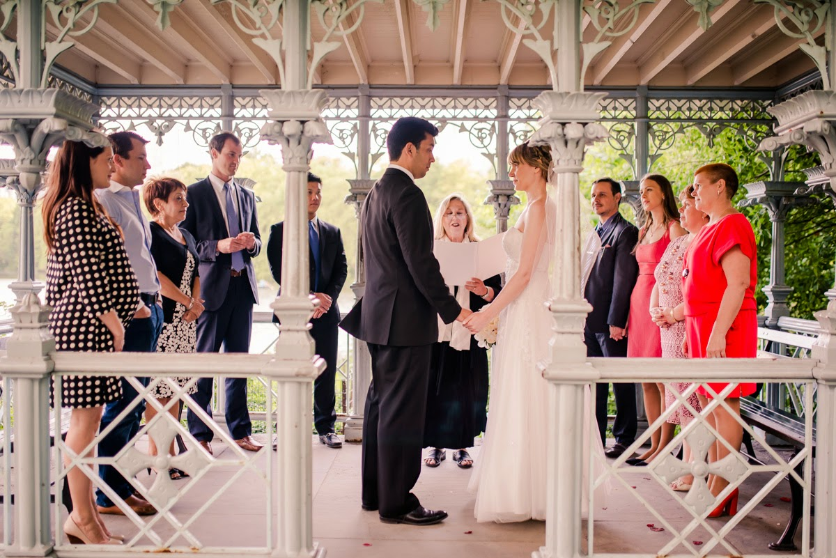 Central Park Wedding Ceremony Photography