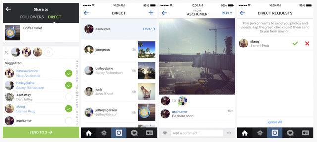 Instagram eliminar mensajes directos
