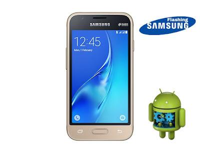 Cara Mudah Flashing Samsung Galaxy J1 Mini SM-J105F Yang Bootloop Dengan Aman