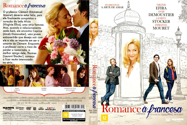 Capa DVD Romance À Francesa