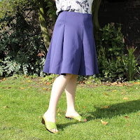 http://www.sewingbeefabrics.co.uk/neoprene-flared-skirt-tutorial