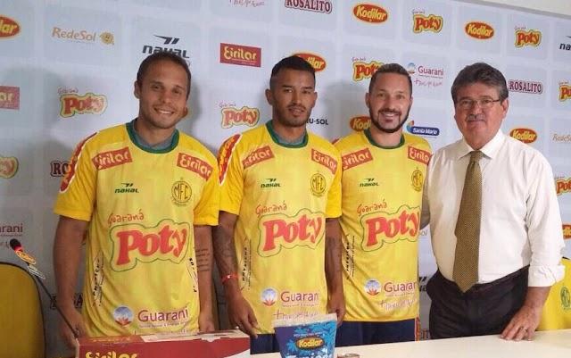 Bruno Oliveira é apresentado no Mirassol, clube onde iniciou sua formação como atleta