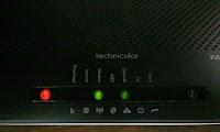 Led rosso modem (Internet assente): cosa fare prima di chiamare l'assistenza