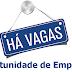RELAÇÃO DE VAGAS DE EMPREGO DIA 17/05/2016