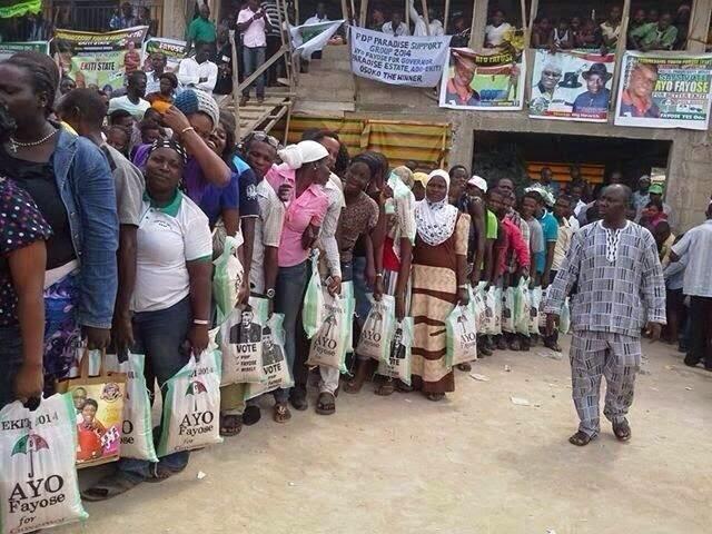 ekiti voters bag rice