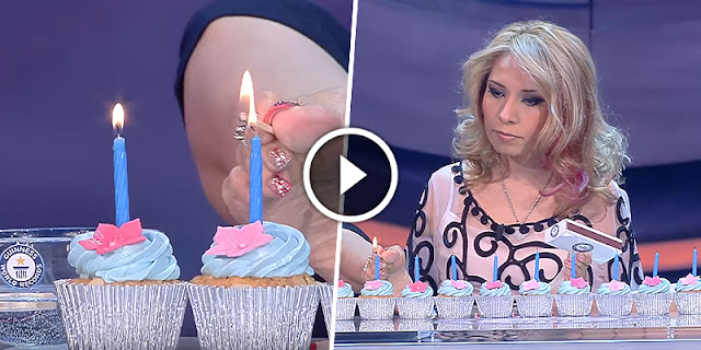 Unbelievable - This Mexican Women Lit 10+ Birthday Candles With Her Feet In 1 Minute And Make Guinness World Records