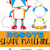 Robots Shape Matching Puzzle for Toddlers