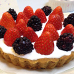 Mixed Berries S'mores Tart