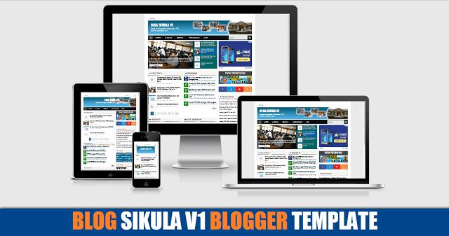 Blog Sikula V1 Responsive Blogger Template Premium