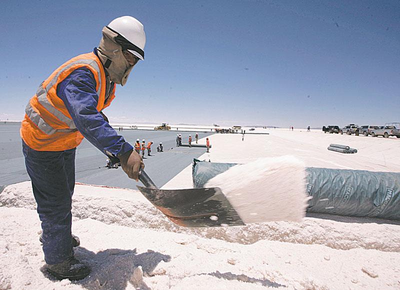 Bolivia busca ser el mayor exportador mundial de litio / LA RAZÓN