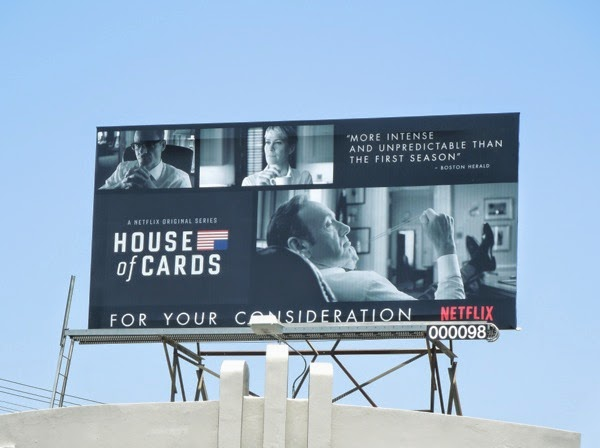 House of Cards 2014 Emmy billboard