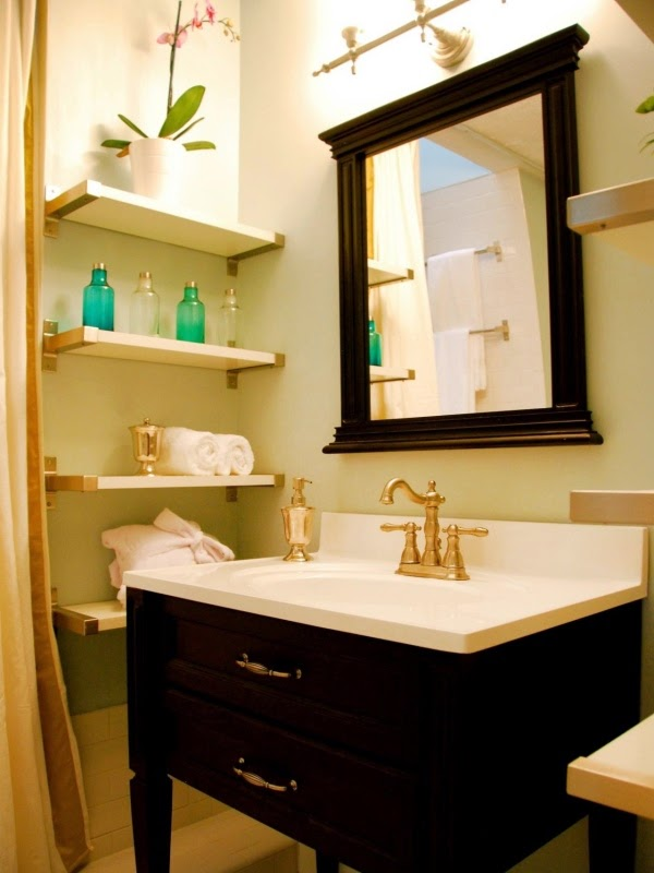 12 Elegant Decorating Ideas For Floating Wall Shelves