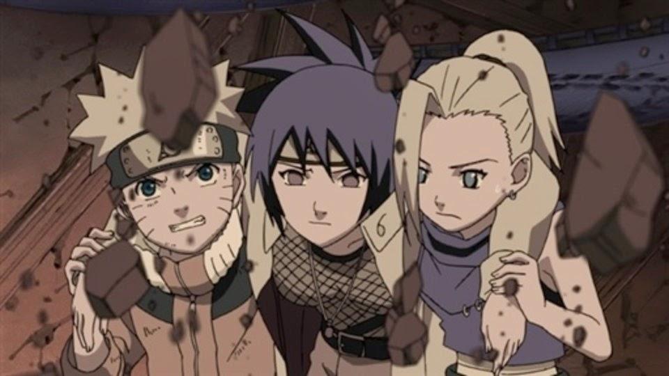 Naruto, Anko y Ino
