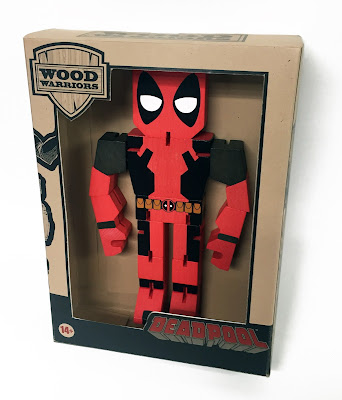 Marvel Comics Wood Warriors Action Figures by PPW Toys - Captain America, Spider-Man, Iron Man, Deadpool, Hulk & Thor