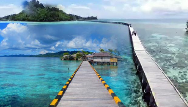 Pulau papan di sulawesi tengah dan suku bajo