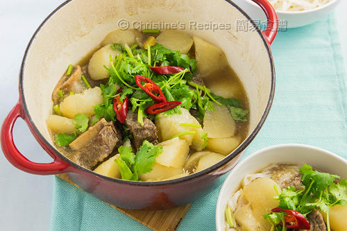 韓式蘿蔔燜牛肋骨 Korean Beef Short Ribs02