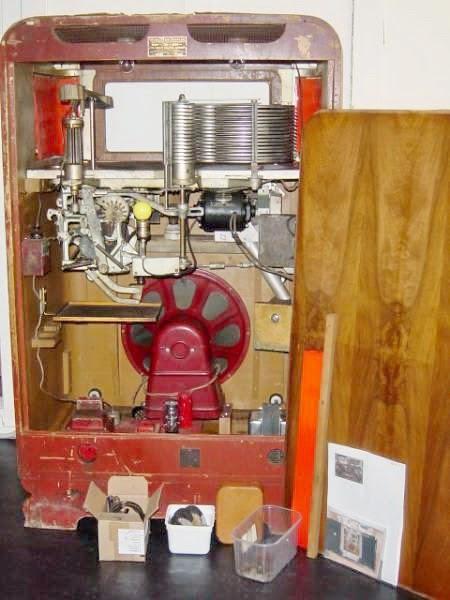 wurlitzer musikbox reparatur
