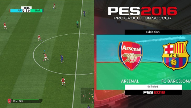 PES 2018 Official Scoreboard For PES 2016
