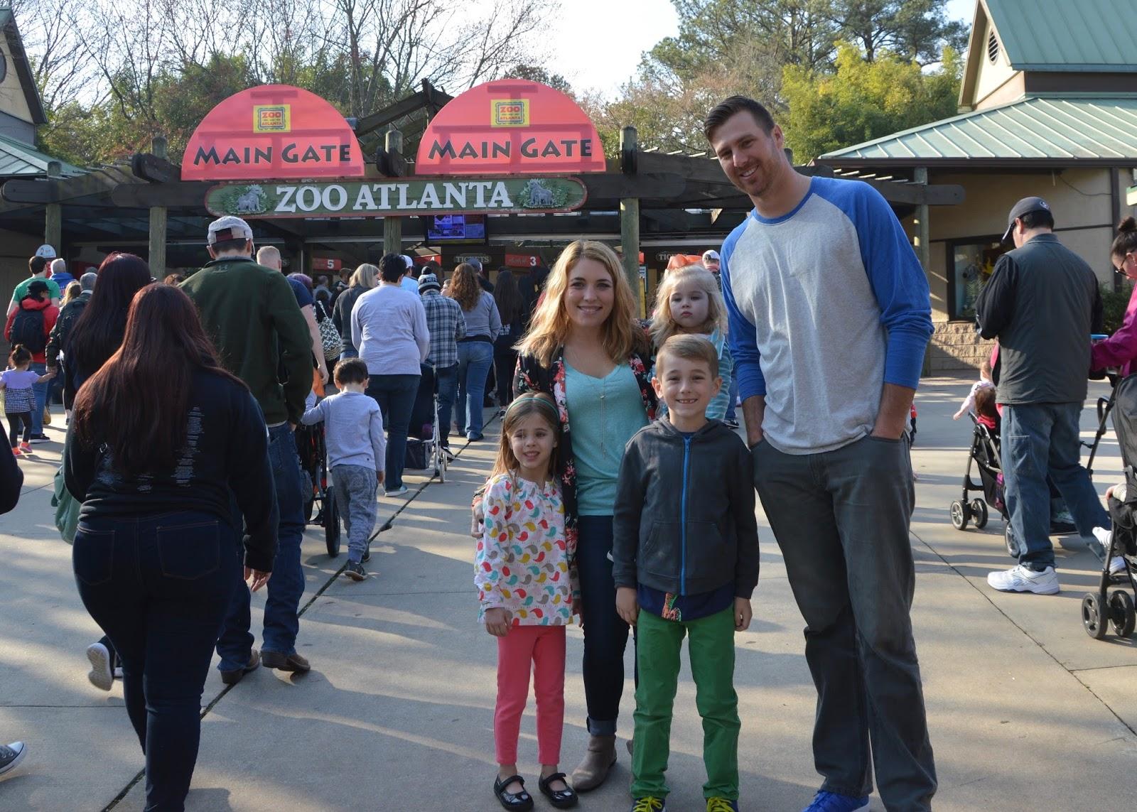Family Day at Zoo Atlanta