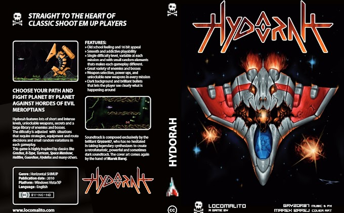 Hydorah - Ετοιμαστείτε για επικές διαστημικές μάχες