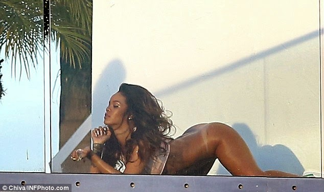 For Rihanna naked on her lnees consider, that