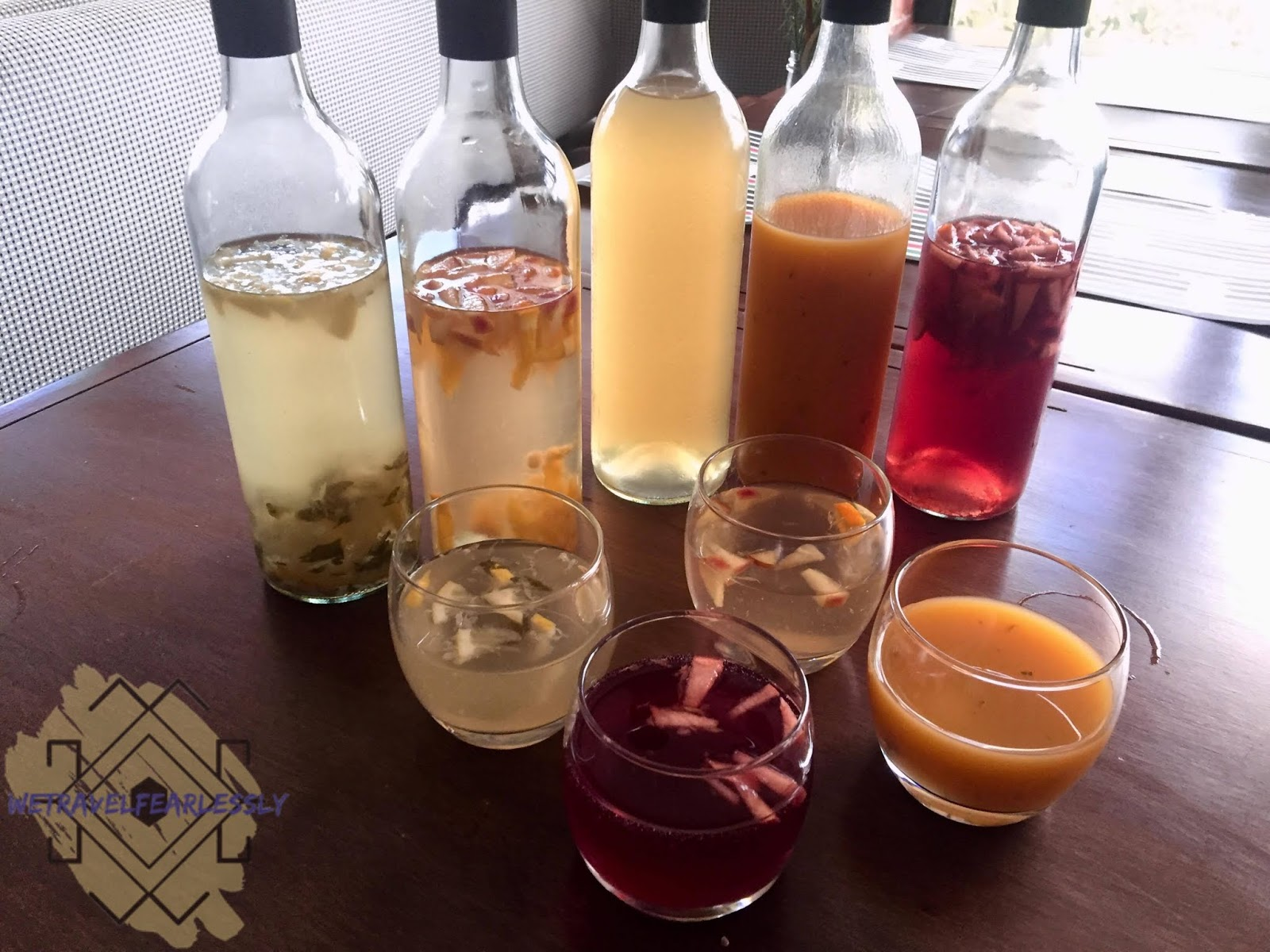 Mojito, White Sangria, Lemongrass Iced Tea, Mango, Red Sangria (PHP400) in Cucina di Francesco in Libis, Quezon City - WTF Review