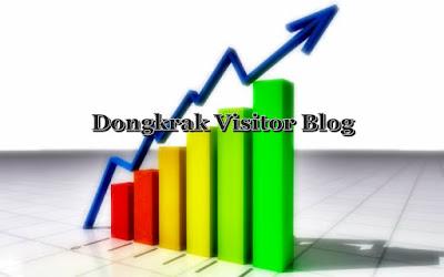 silakan anda lakukan cara-cara ini untuk dongkrak visitor blog anda