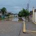 Alagamento na rua Dom Antonio de Almeida Lustosa,Planalto