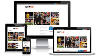 Sportsmag blogger template