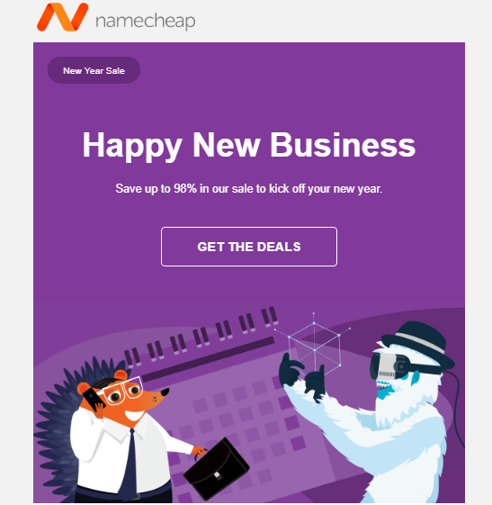 Namecheap Coupon Code 2019 - Giảm giá 98% Tên miền, giảm 50% Hosting