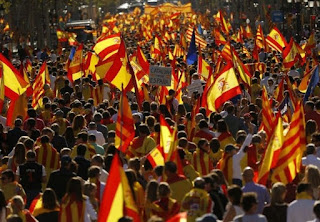 Thousands Rally in Barcelona