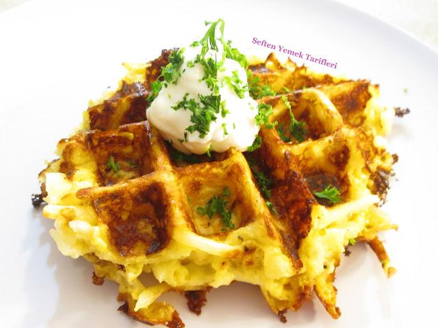 patatesten waffle nasıl yapılır