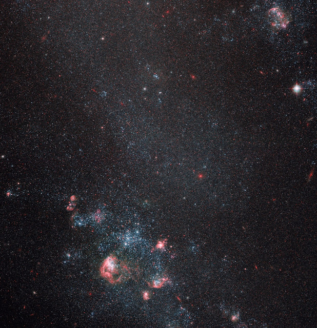 Dwarf Galaxy IC 2574