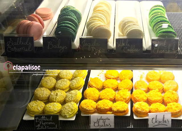 Macaron Flavors from Mrs Grahams