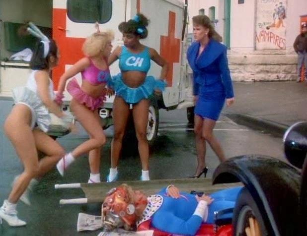 Flesh gordon meets the cosmic cheerleaders codballs caution