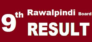 9th class result 2017 Rawalpindi