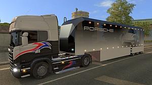 Porsche standalone trailer