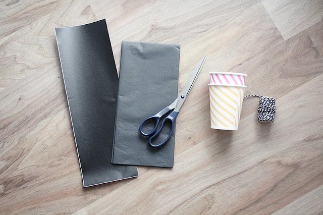 Anleitung Becherverpackung