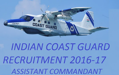 Government Jobs, Central Government Jobs, Indian Coast guard jobs
