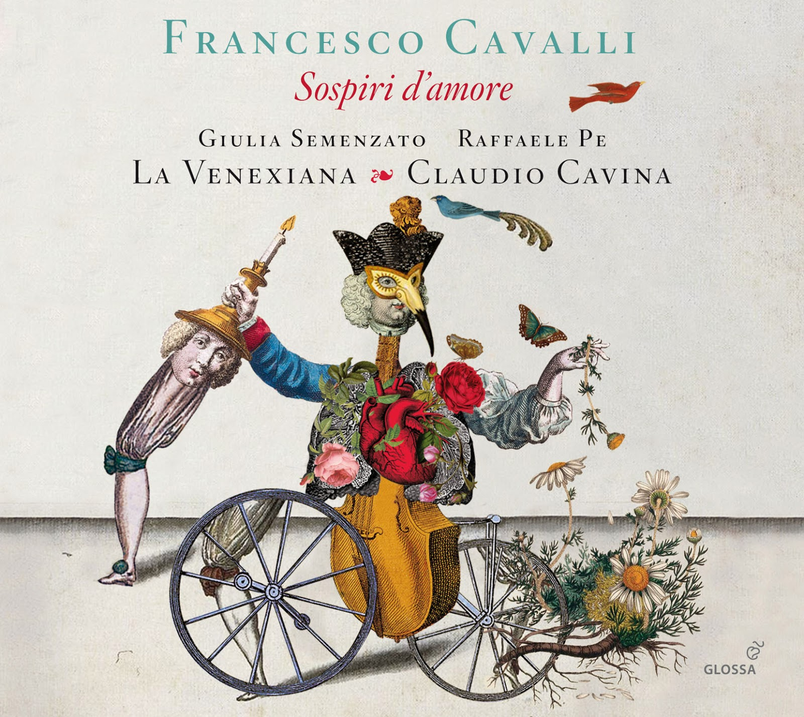 RECORDING OF THE MONTH / April 2016: Francesco Cavalli - SOSPIRI D'AMORE (Glossa GCD 920940)