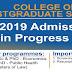 Babcock University College of Postgraduate Studies Admission Form - 2018/2019
