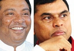 Basil Rajapaksa and s b