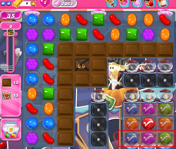 Candy Crush Saga 2051