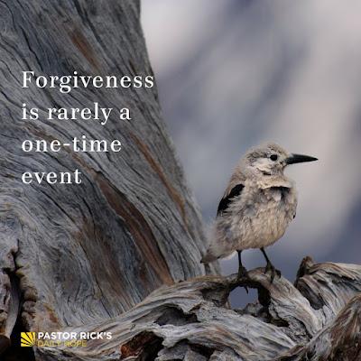 How Often Should You Forgive? by Rick Warren