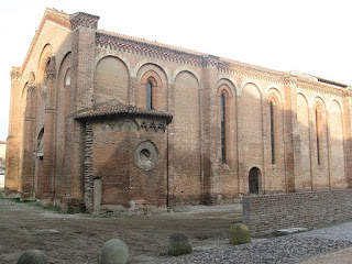 The Church of Santa Paola in Mantua. where Isabella and Francesco are buried in the Gonzaga Pantheon